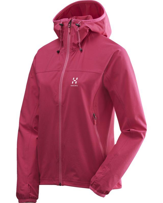 Haglofs Boa Hood Women Volcanic Pink-30
