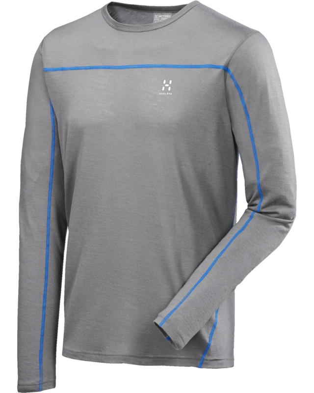 Haglofs Actives Merino Roundneck Granite-30