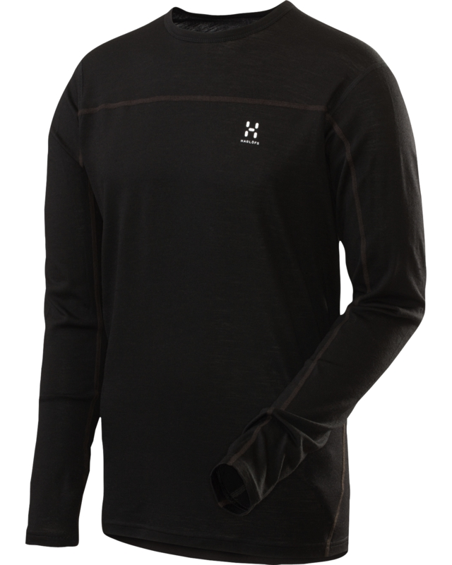 Haglofs Actives Merino Roundneck True Black-30