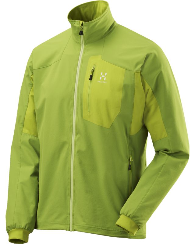 Haglofs Lizard Jacket Men Lime Green/Glow Green-30