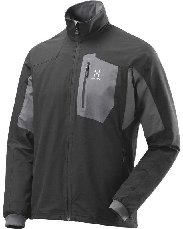 Haglofs Lizard Jacket Men True Black/Magnetite-30
