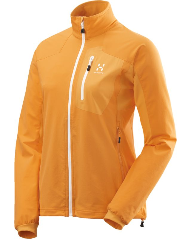 Haglofs Lizard Jacket Women Saffron/Sun-30