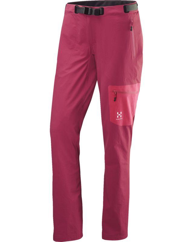 Haglofs Lizard Pant Women Volcanic Pink/Cosmic Pink-30