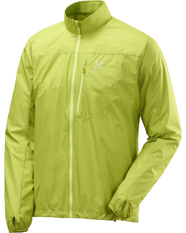 Haglofs Shield Jacket Men Glow Green-30