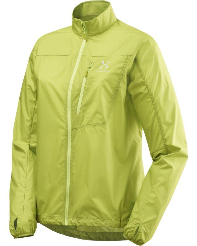 Haglofs Shield Jacket Women Glow Green-30