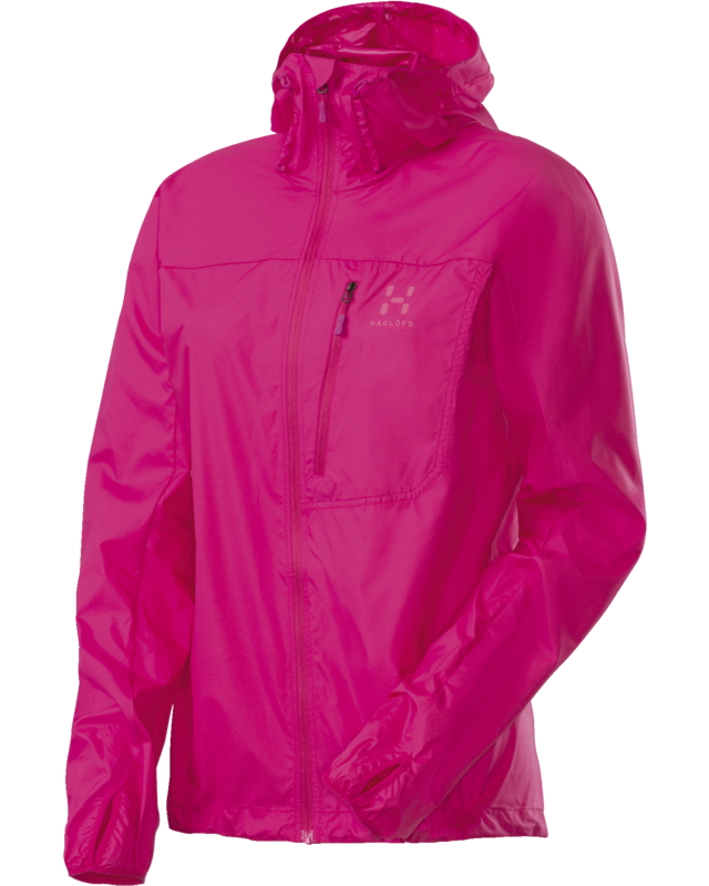 Haglofs Shield Q Hood Cosmic Pink-30