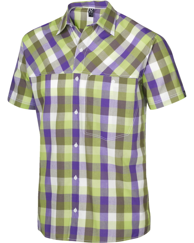 Haglofs Haku SS Shirt Juniper/Imperial Purple-30