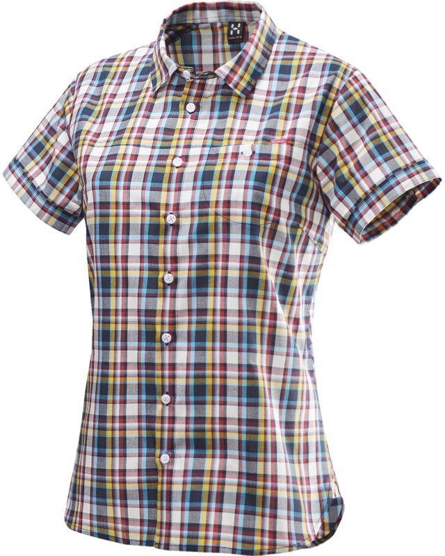 Haglofs Kili SS Shirt Women Deep Blue/Volcanic Pink-30