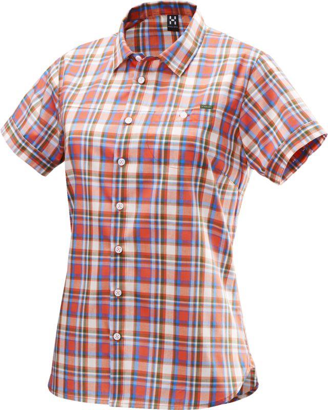 Haglofs Kili SS Shirt Women Carnelia/Juniper-30