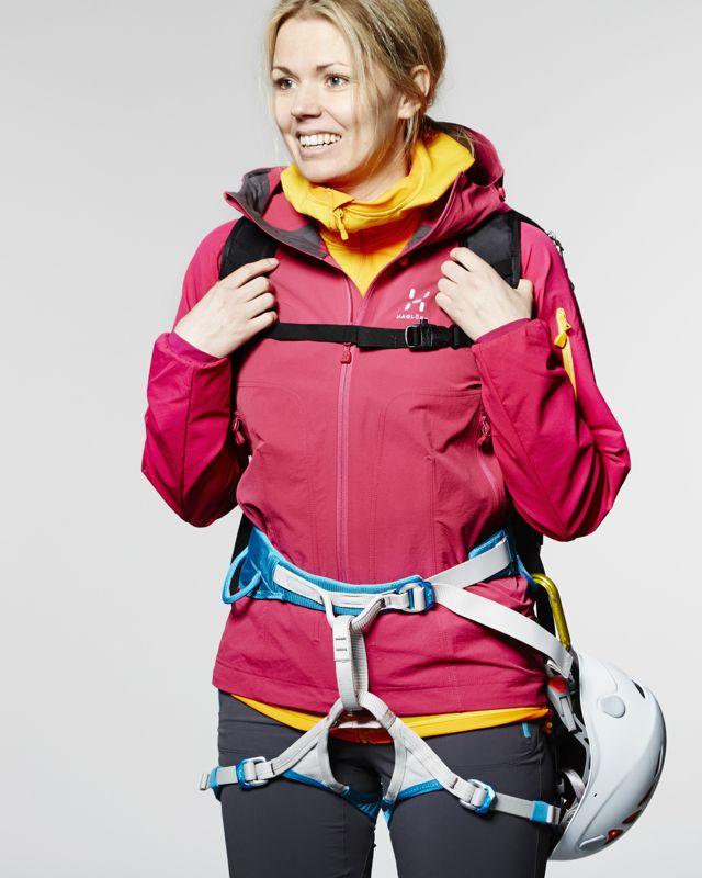 Haglofs Roc Jacket Women Volcanic Pink-30