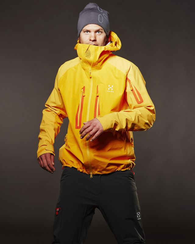 Haglofs Roc High Jacket Men Saffron/Dynamite-30