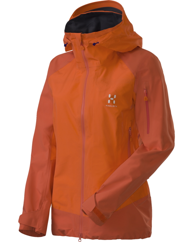 Haglofs Roc Q High Jacket Firecracker-30