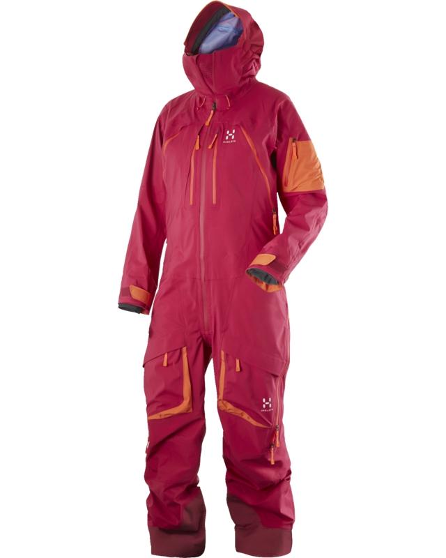 Haglofs Vassi II Q Suit Volcanic Pink/Firecracker-30