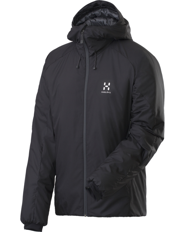 Haglofs - Barrier III Hood True Black - Isolation & Winter Jackets - XL