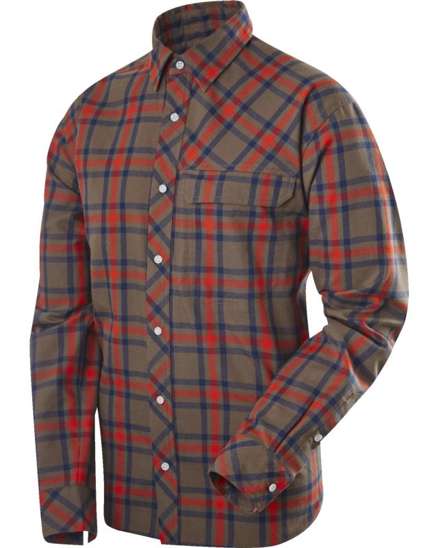 Haglofs Astral LS Shirt Driftwood/Danger-30