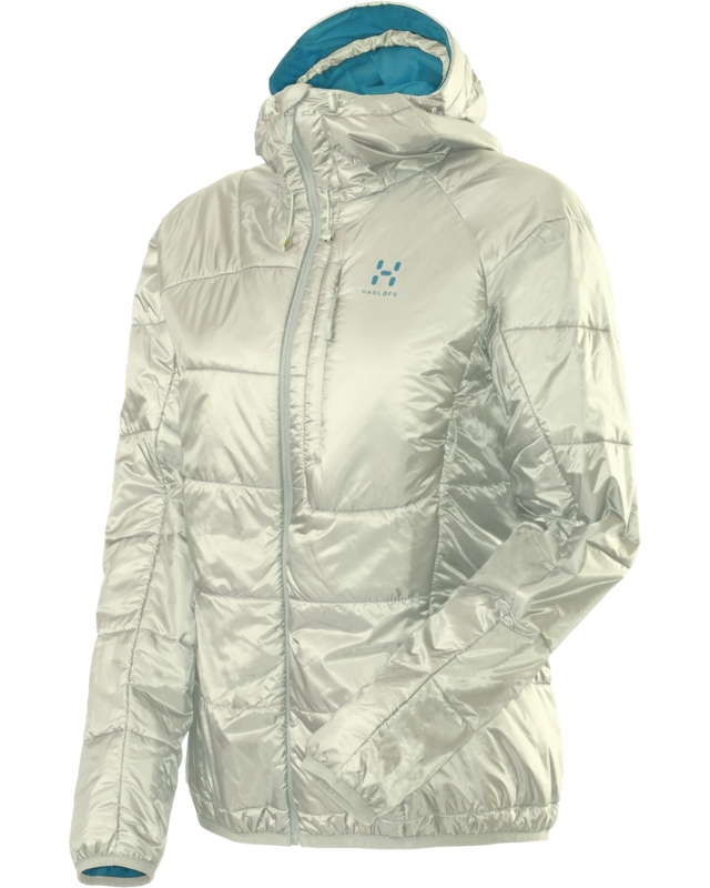 Haglofs Barrier Pro II Q Hood Soft White/Bluebird-30