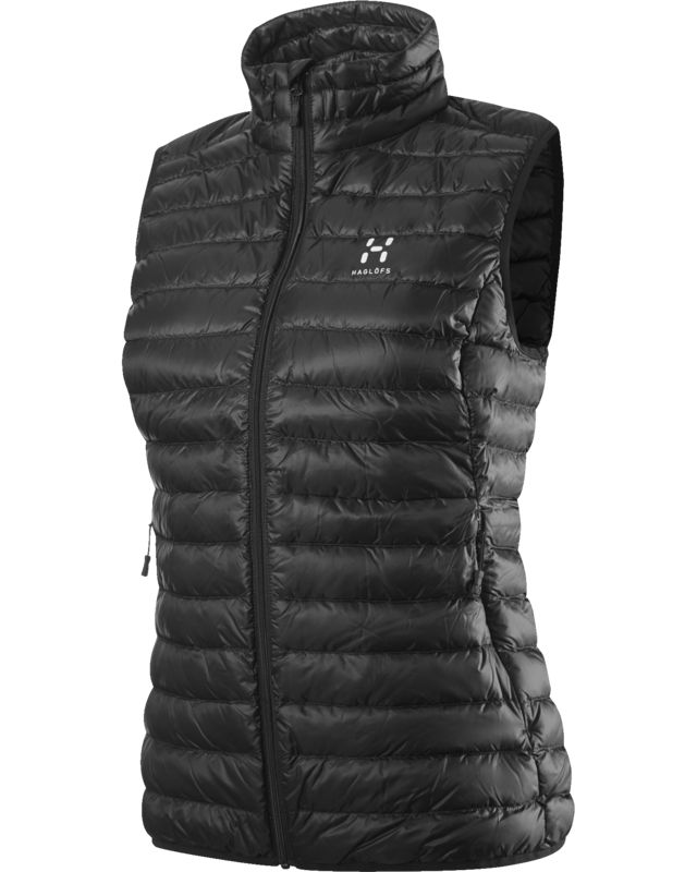 Haglofs Essens II Down Vest Women True Black/Magnetite-30