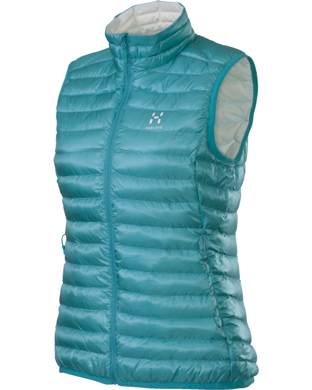 Haglofs Essens II Q Down Vest Bluebird/Softwhite-30