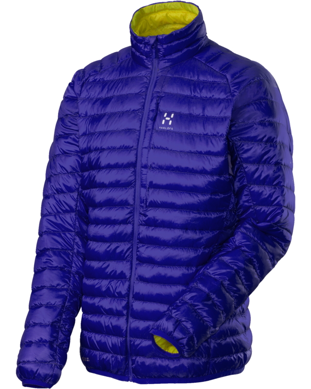 Haglofs Essens II Down Jacket Noble Blue/FireFly-30
