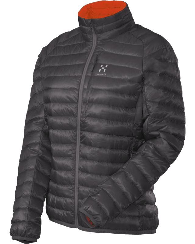Haglofs Essens II Q Down Jacket Magnetite/Firecracker-30