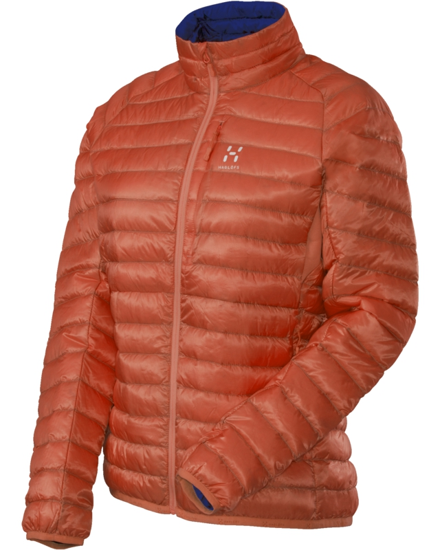 Haglofs Essens II Q Down Jacket Firecracker/Noble Blue-30