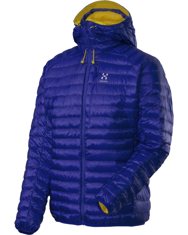 Haglofs Essens II Down Hood Noble Blue/Firefly-30