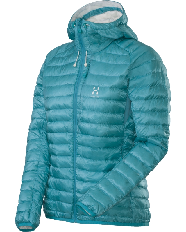Haglofs Essens II Q Down Hood Bluebird/Soft White-30