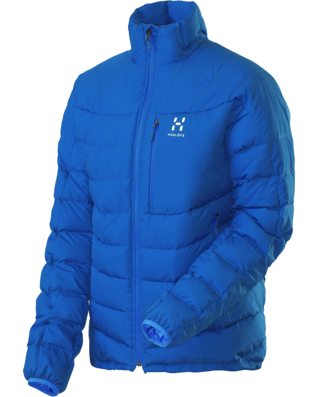 Haglofs Bivy II Down Jacket Storm Blue-30