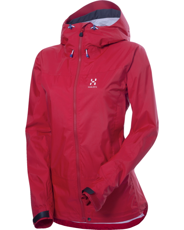 Haglofs Eclipse Q Jacket Real Red-30