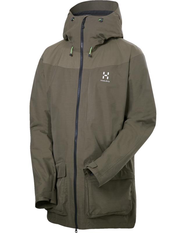 Haglofs Ridge Jacket Driftwood-30
