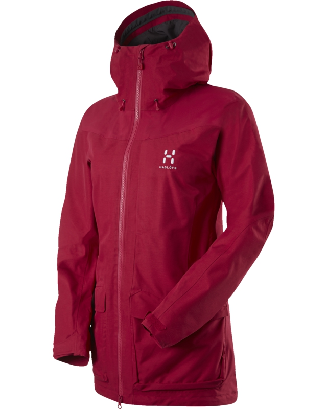 Haglofs Ridge Q Jacket Volcanic Pink-30