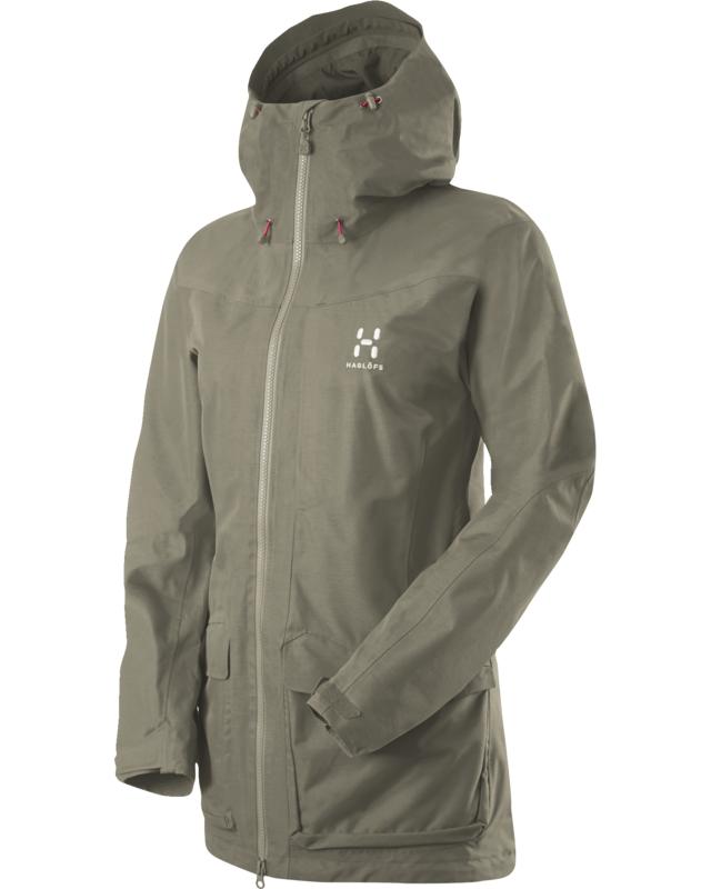 Haglofs Ridge Q Jacket Driftwood-30