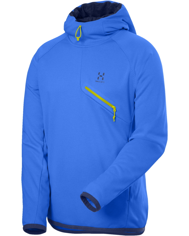 Haglofs Zolo Hooded Pull Gale Blue-30