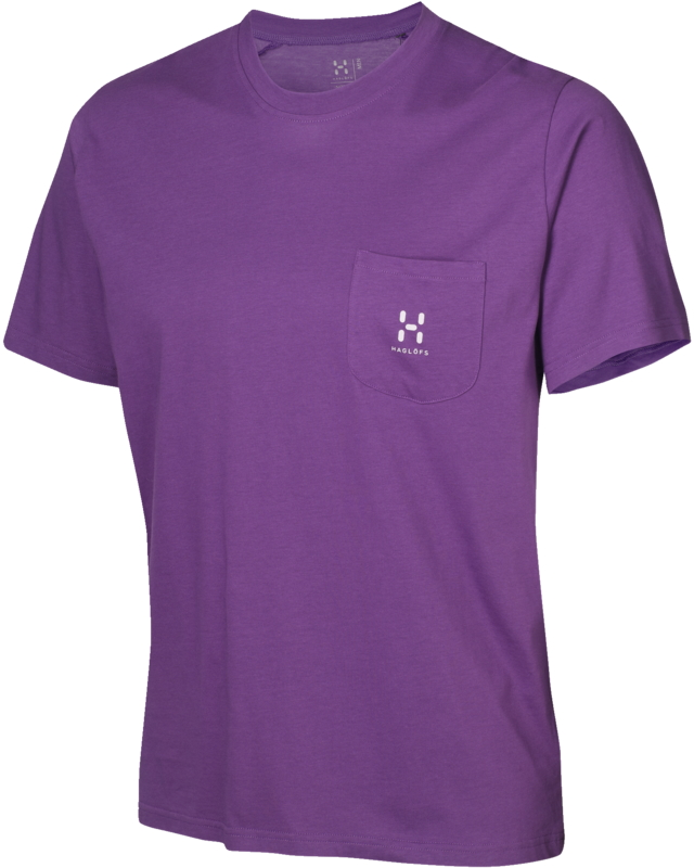 Haglofs Pike Tee Imperial Purple-30