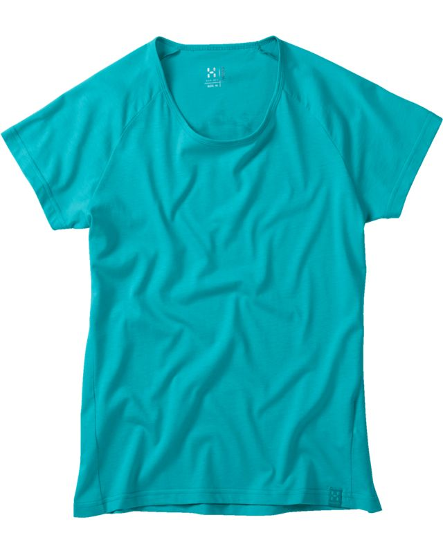 Haglofs Pike Tee Women Bluebird-30