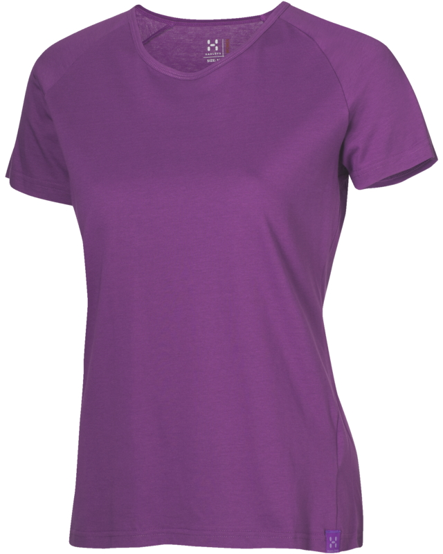 Haglofs Pike Q Tee Imperial Purple-30