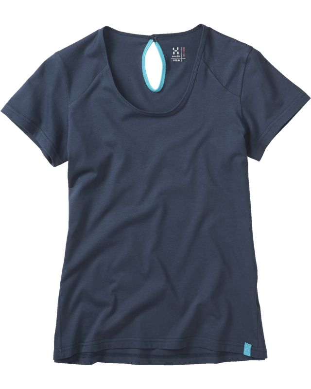 Haglofs Apex Tee Women Deep Blue-30