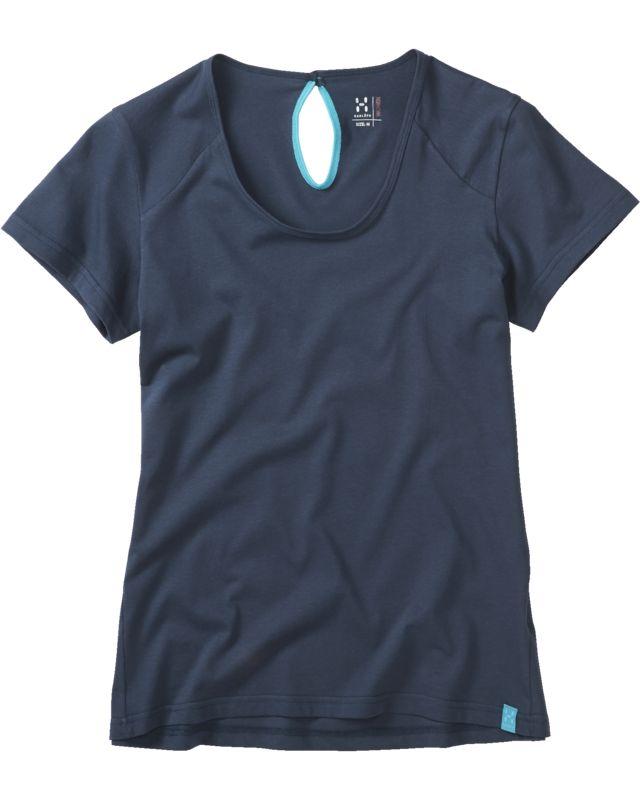 Haglofs - Apex Tee Women Deep Blue - T-Shirts -