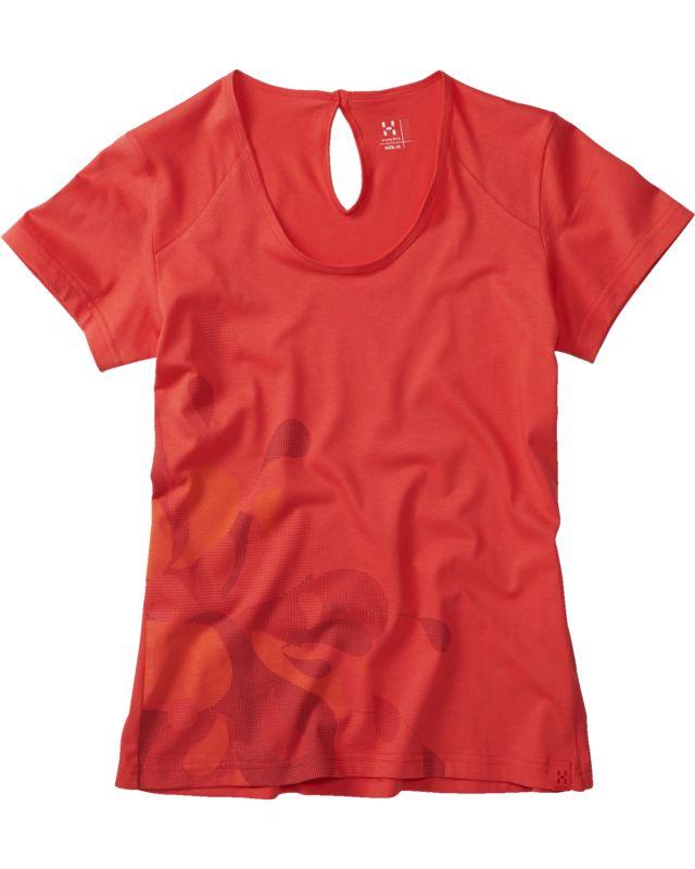 Haglofs - Apex Tee Women Carnelia - T-Shirts - L