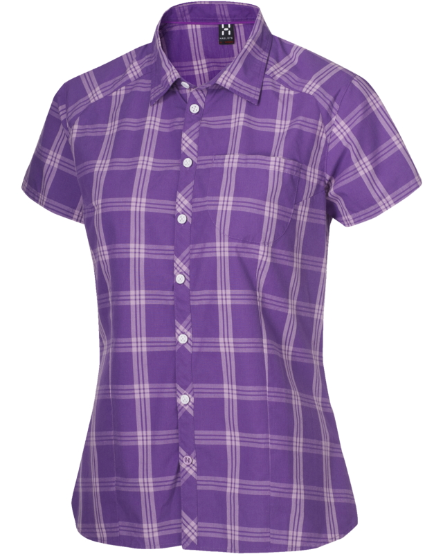 Haglofs Zuma Q SS Shirt Imperial Purple-30