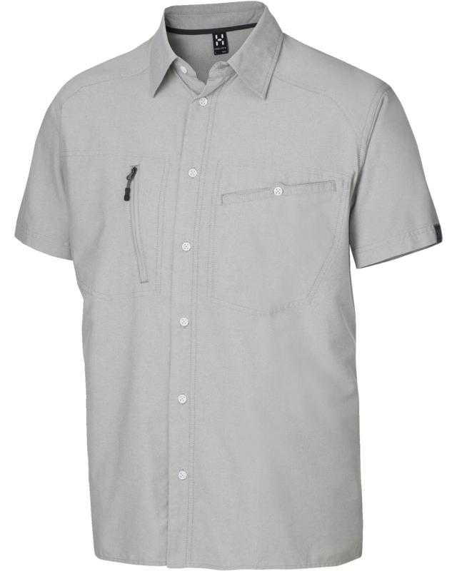 Haglofs Saba II SS Shirt Magnetite/Oxford-30