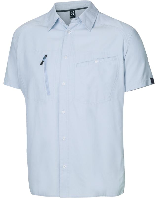 Haglofs Saba II SS Shirt Mistblue/Oxford-30