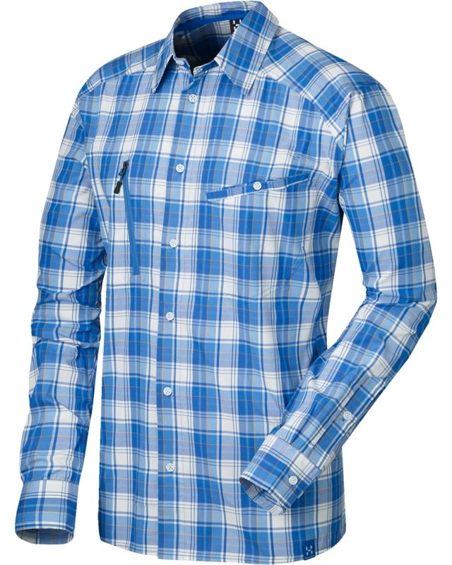 Haglofs Saba II LS Shirt Storm Blue/Sharon-30