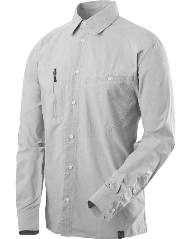 Haglofs Saba II LS Shirt Magnetite/Oxford-30