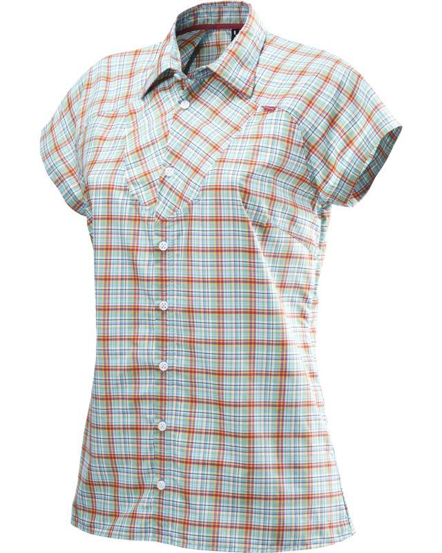Haglofs Tana II SS Shirt Women Bluebird/Sun-30