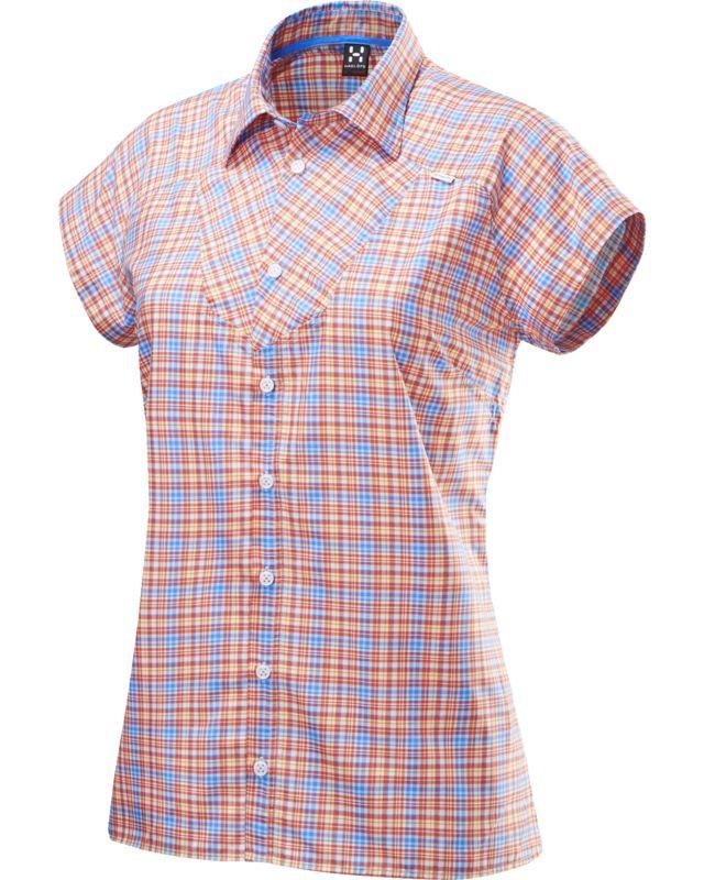 Haglofs Tana II SS Shirt Women Carnelia/Gale Blue-30