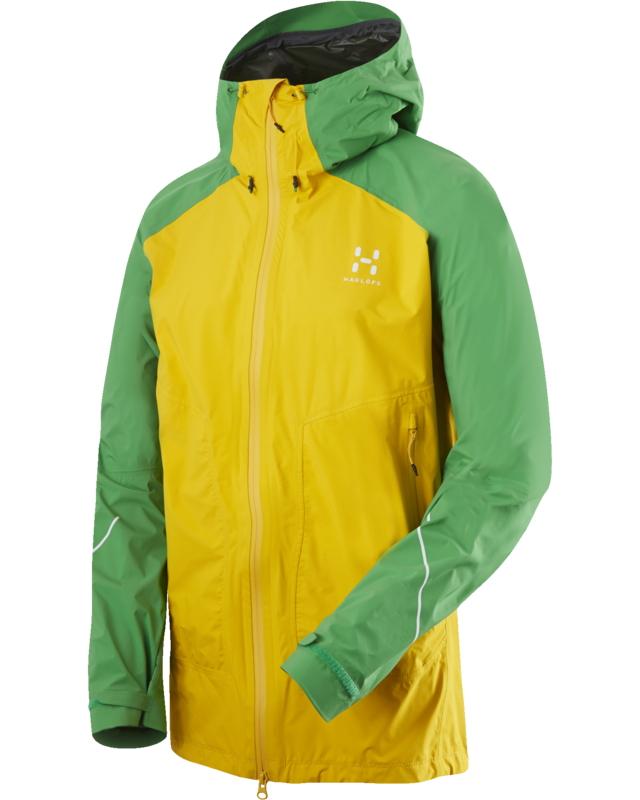 Haglofs L.I.M Versa Jacket Sun/Ginko Green-30