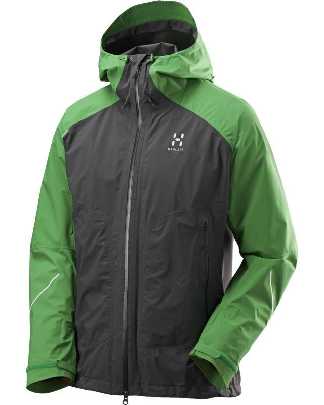 Haglofs L.I.M Versa Jacket Men Magnetite/Ginko Green-30