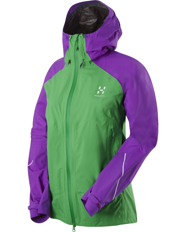 Haglofs L.I.M Q Versa Jacket Ginko Green/Imperial Purple-30
