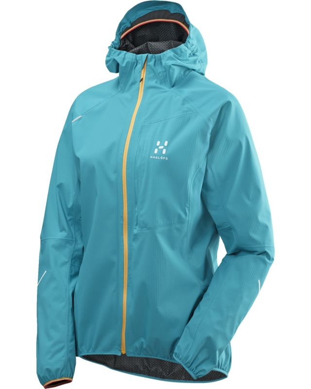 Haglofs L.I.M Proof Jacket Women Peacock-30